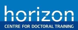 Horizon CDT logo